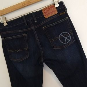 Lucky Brand Peace Symbol Jeans 12/31 Sundown